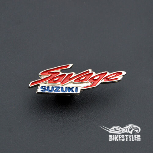 Suzuki SAVAGE LS 650 Boulevard S40 Motorcycle Metal Badge Pin