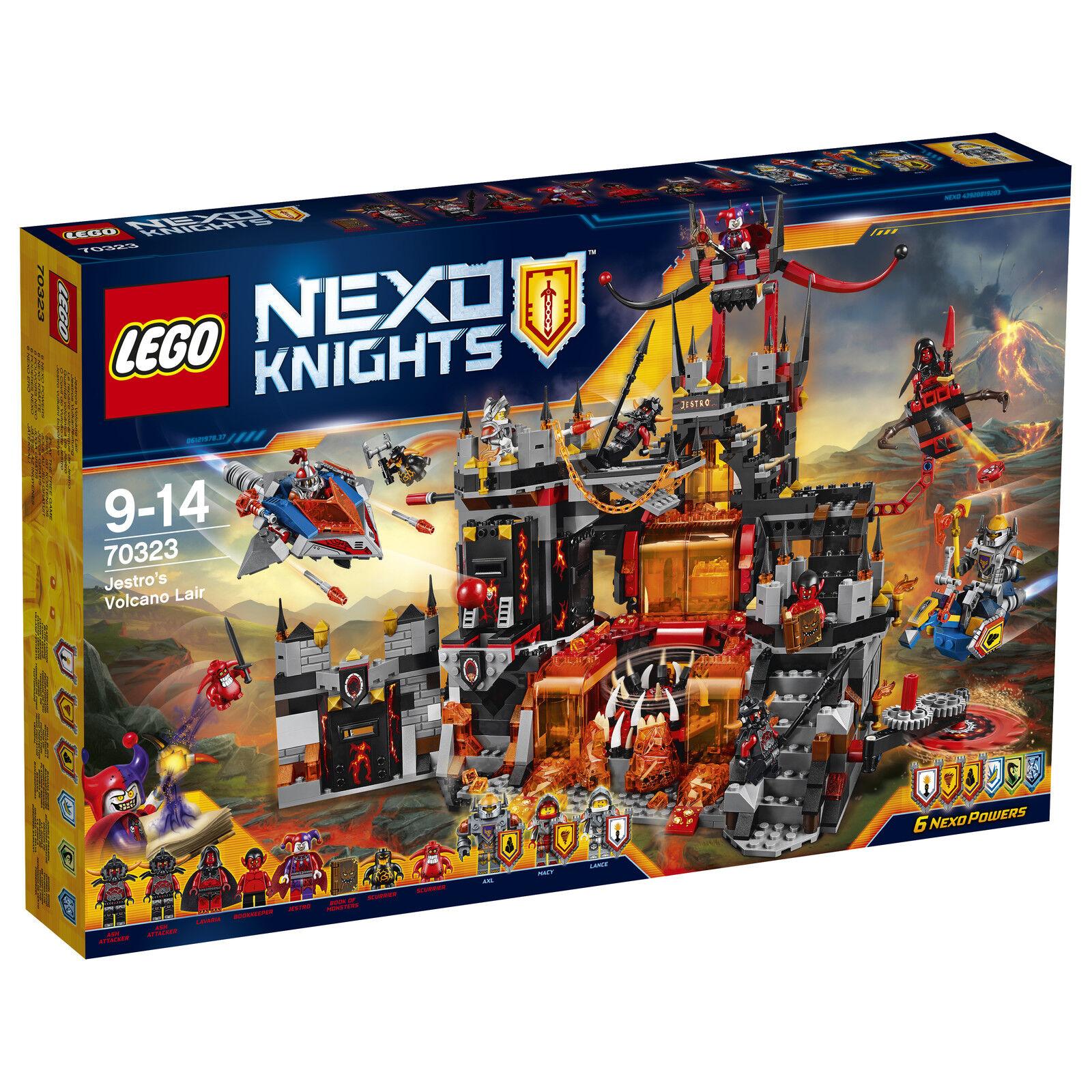 LEGO® Nexo Knights™ 70323 Jestros Vulkanfestung NEU_ Jestro's Volcano Lair NEW