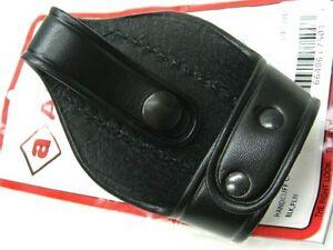 AKER LEATHER Black 503A Bikini Handcuff Case For ASP Chain Link Cuffs! A503-BP