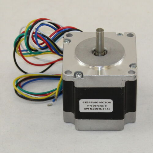 "8.0 kg-cm 6 Wire NEMA 23 Stepping Motor with /""D/"" shaft 57BYGH207-D"