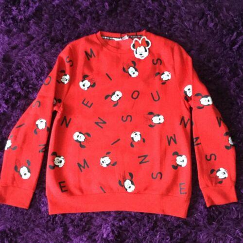OFFICIAL Disney donna Mickey Minnie Mouse Stitch Felpa Primark Nuovo con Etichetta Regno Unito