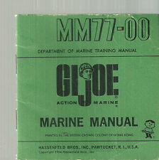 MM77-00 GI Joe Marine Manual 1964