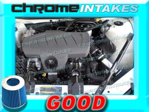 BLACK BLUE 04-08 PONTIAC GRAND PRIX GT1//2 GTP GXP 3.8L V6 5.3L V8 AIR INTAKE 3.5