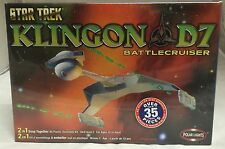 Sealed 2004 Star Trek Klingon D7 Battlecruiser Polar Lights Model Kit