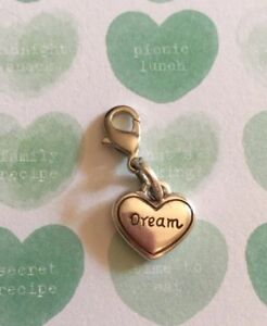 Brighton-Dream-HEART-Charm-Silver-Excellent-Condition-Very-Pretty-Love