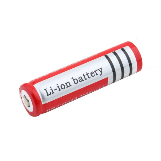 OE 3.7V 4200mAh 18650 Li-ion Rechargeable Battery Flashlight