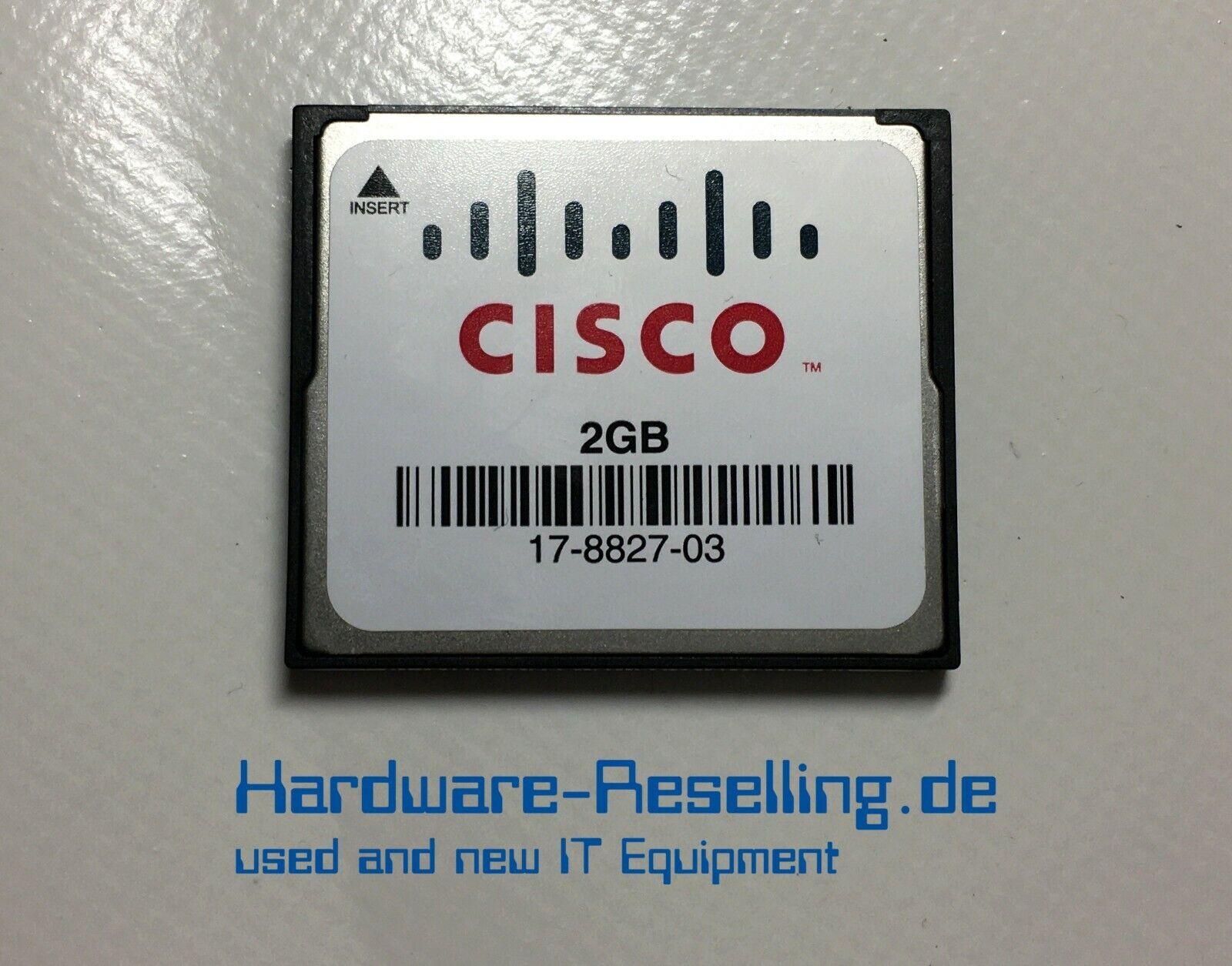 Cisco 2GB Compact Flash Memory Card UGB30STC2000Z4-EAM-8SD 17-8827-03