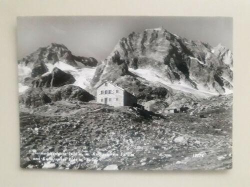 alte Ansichtskarte Damrstädterhütte Arlberg