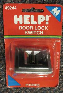 49244-NEW-NOS-Dorman-Help-Power-Door-Lock-Switch-1978-1988-GM-Various-901019