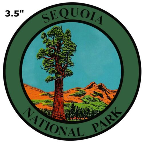 Explore Sequoia National Park Embroidered Patch Iron Sew-On Souvenir Nature
