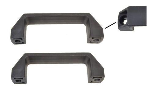 Rangiergriff Kunststoff schwarz 2 Stück Handgriff 2.69€//1Stk