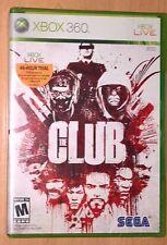 The Club (Microsoft Xbox 360) BRAND NEW FACTORY SEALED --- Sega 2008 Video Game