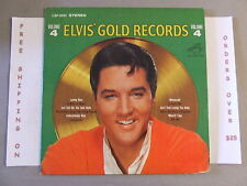 ELVIS PRESLEY GOLD RECORDS VOLUME 4 LP 1968 STEREO ISSUE LSP-3921