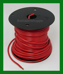 Astonishing Trailer Light Cable Wiring Harness 14 Gauge 100 Wire Roll Red Wiring Digital Resources Funiwoestevosnl