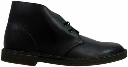 para hombres 26077967 Clarks Desert tamaño cuero negro 10 Boot 6q4qZwf