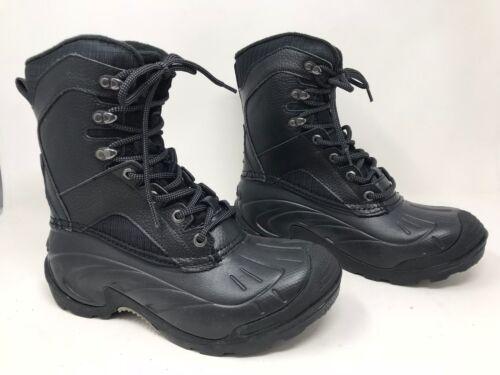 Men/'s Merona Lace Up Winter Boots Black 098 04 0491 Rae 10X New