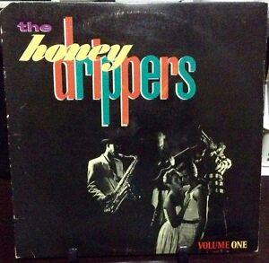 THE HONEYDRIPPERS Volume 1 Released 1984 Vinyl/Record Album US pressed