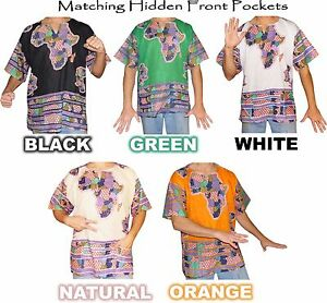 Mens-Africa-Print-Dashiki-Shirt-100-Cotton-by-American-Dashiki