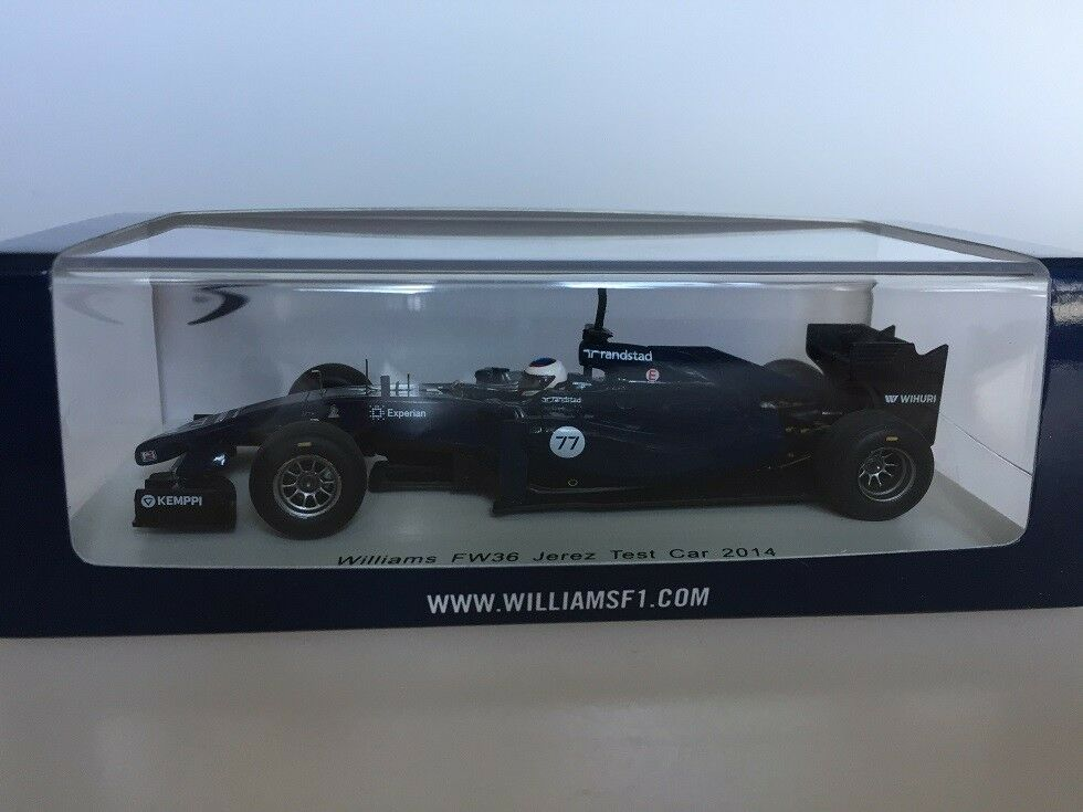 1 43 Spark Williams FW36 Jerez Test Car 2014 - Valtteri S3091 Damage Showcase