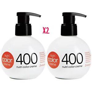 Revlon-Nutri-Color-Conditioning-Creme-400-TANGERINE-270ml-BALL-X2