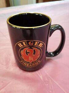 RUGER COLLECTORS ASSOCIATION BEER STEIN BLACK RCA RUGER 1980/'s