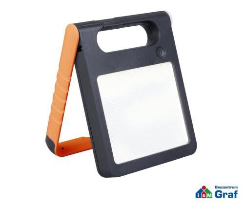 Lutec tragbare Solar-Outdoorleuchte Campinglampe PADLIGHT orange weiß grün