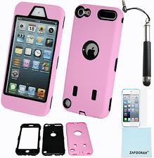 Híbrido a Prueba De Golpes Defensor Funda Cubierta para Apple iPod Touch 5th y 6th generación