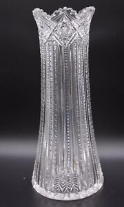 J-Hoare-Corning-American-Brilliant-Period-ABP-Crystal-Plume-12-1-2-034-Vase