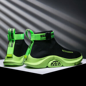 Men-039-s-Fashion-Casual-Shoes-Sports-Sneakers-Athletic-Shoes-Breathable-Sock-shoes