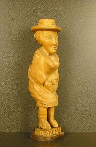 "Landerneau "" Les Small Brittany "" Sculpture Popular Art Breton Brittany 1903"