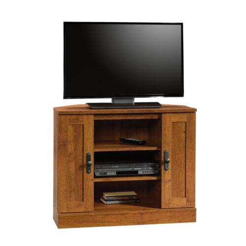 "Entertainment Stand Harvest Mill Corner Furniture Center Storage TVs up to 37/"""