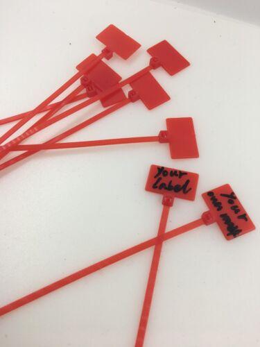 UK Stock Couleur Marqueur Cable écrire sur Zip Ties write on Cable numéro d/'étiquette Signe Tie