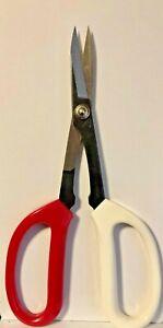 Pacific-Bonsai-Tool-BONSAI-TRIM-SCISSORS-SHEERS-8-034-Red-amp-White-Handle-NIP