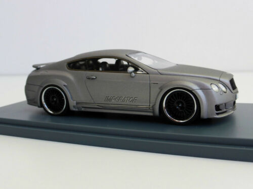 Bentley Hamann Imperator 1/43 Neoscale Models Neo 45700 Continental Gt Gris