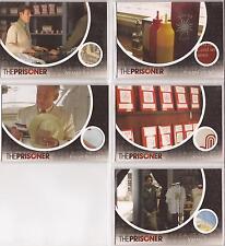 The Prisoner TV Series -VARIANT San Diego Comic Con 2010 5 Card Prop Set PP01-05