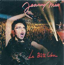 """45 TOURS / 7"""" SINGLE--JEANNE MAS--LA BETE LIBRE / LOIN D'ICI--1987"""
