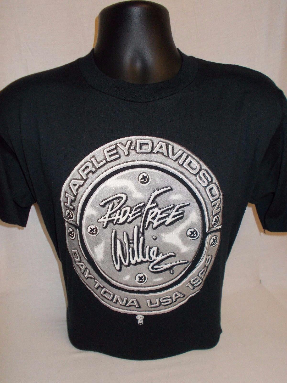 RARE L Vintage Harley Davidson T-Shirt Robison Harley Davidson 1962 to 1993