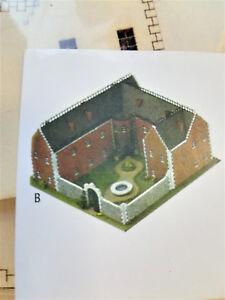 Dollhouse-Miniature-Small-1-144-Scale-Castle-Kit-by-Laser-Tech-Wood