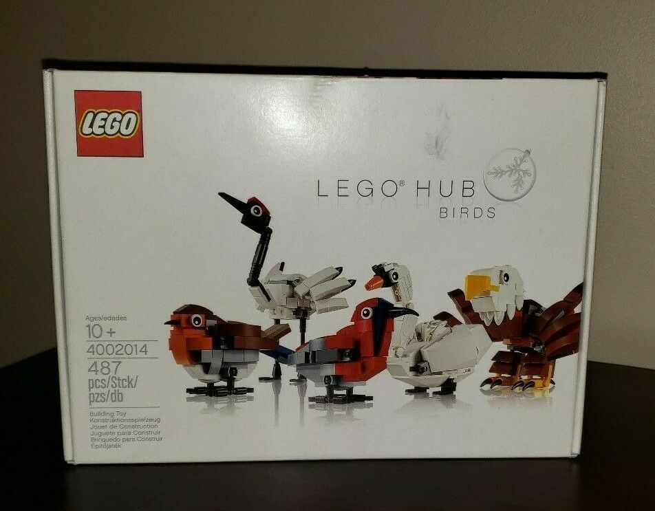 LEGO HUB BIRDS  4002014 RARE - FACTORY SEALED   rentable