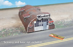 Military Surplus Quonset Huts For Sale >> Z Scale Building Quonset Hut Pre Cut Card Stock Paper