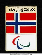 OLYMPIC PINS 2008 BEIJING CHINA COUNTRY NORWAY FLAG NOC