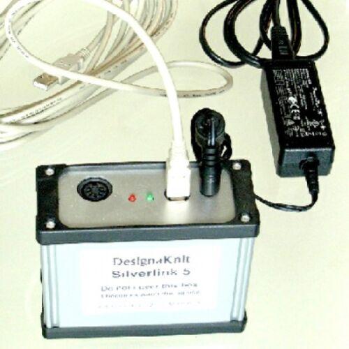 Designaknit Silverlink 5 Cable Usb Para Máquinas De Tejer Silver Reed electrónica