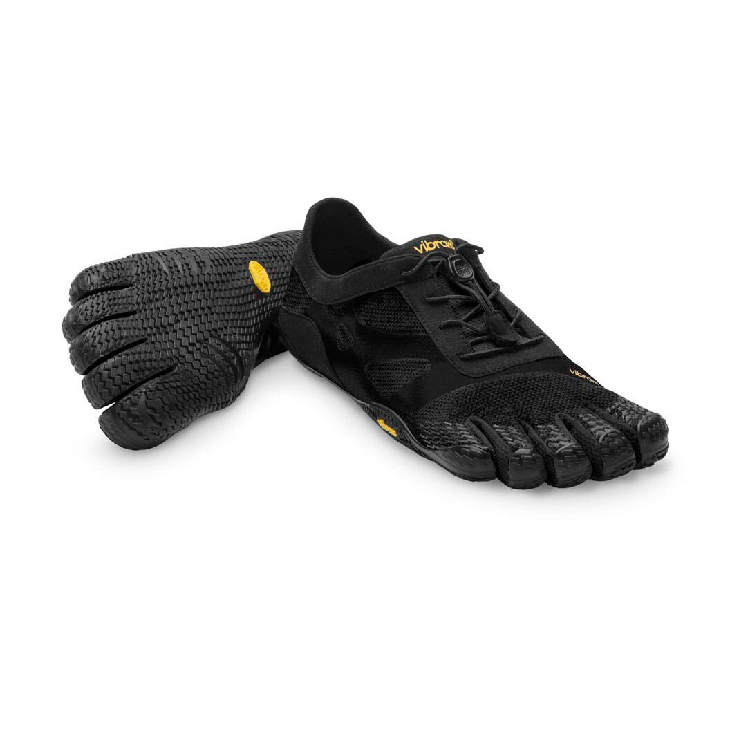 Vibram Men's KSO EVO Minimalistic shoes FiveFingers  Black EU 43