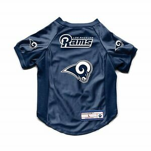 NEW-LOS-ANGELES-RAMS-DOG-CAT-DELUXE-STRETCH-JERSEY