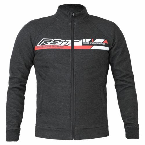 Details about  /RST Zip Logo Motorbike Motorcycle Hoodie Steel