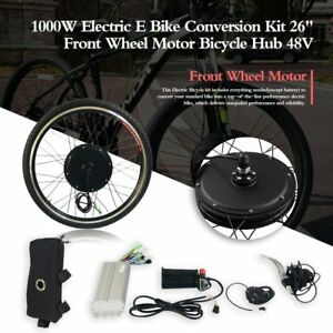 Elektrofahrräder 26 48V Vorderrad Motor Fahrrad Nabe 1000W Elektro E-Bike Conversion Kit Z/