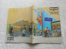 1981 Hallowell Industrial Furniture Steel Shelving Storage Systems 113 Pages
