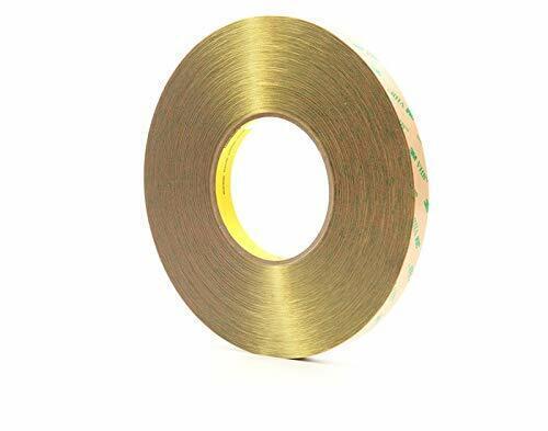 .5in F9473PC 3M Scotch VHB Adhesive Transfer Tape Clear 1//2 in x 60yd 10mil