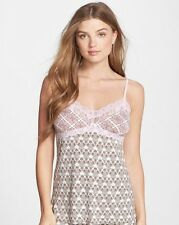 Pj Salvage Women's Pink Touch Mixed Print Camisole - Size S - *C330