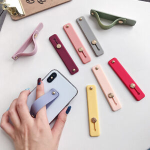 New-Creative-Silicone-Phone-Holder-Finger-Ring-Grip-Stand-Candy-Color-Bracket
